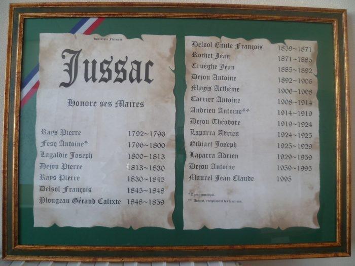 GARAGE BOUSQUET JUSSAC